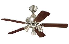 Потолочный вентилятор (люстра - вентилятор) Kingston Euro