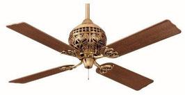 Потолочный вентилятор серии 1886-го года 24840EU цвет полированная медь
