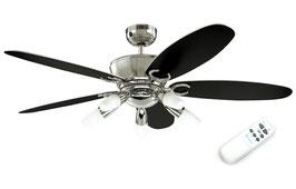 Потолочная люстра-вентилятор Arius Euro