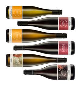 Weinpaket zur 4. Online-Weinprobe - liebliches Ende