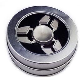 Hochwertiger Fidget Spinner (Silber)