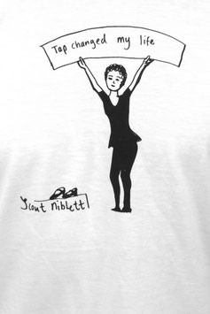"""""""Tap changed my life"""" T- shirt. drawing by Scout Niblett"""