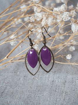 Bo gouttes violettes
