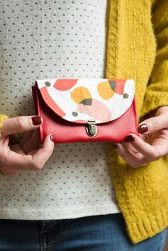 Porte monnaie rouge Matilda
