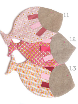 Poisson en tissu imprimé 11 à 13