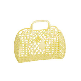 RETRO BASKET - Small Yellow