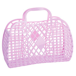 RETRO BASKET - Large Lilac