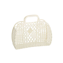RETRO BASKET - Small Cream