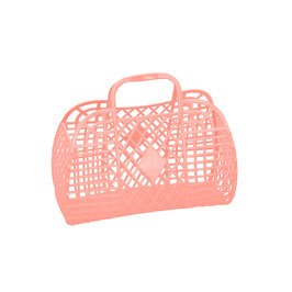 RETRO BASKET - Small Peach