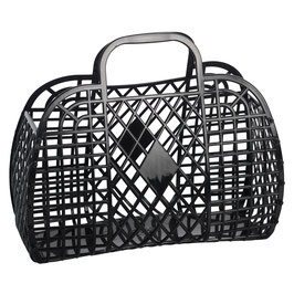 RETRO BASKET - Large Black