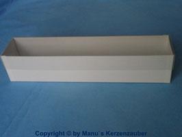 Kerzenkarton mit Klarsichtdeckel
