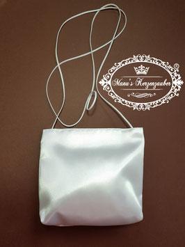 Satin Tasche in Weiß ST