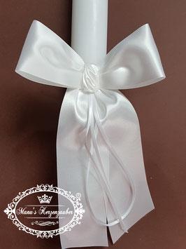 Kerzenschleife mit Weißen Bändern KS104