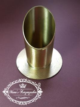 Kerzenständer KST 130-40 gold matt gebürstet