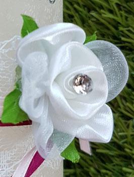 Rose für Vintagekerzen