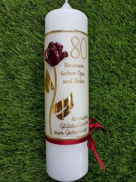 "Geburtstagskerze ""Rose"" GK319"