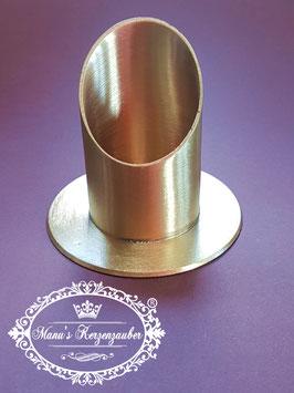 Kerzenständer KST 130-60 gold matt gebürstet