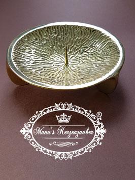 Kerzenständer KST 106 Dreifuß gold