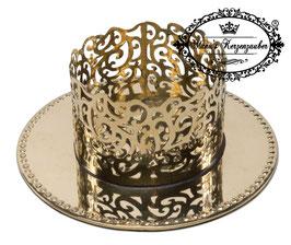 Kerzenständer Ornament KST 134-70 gold glänzend