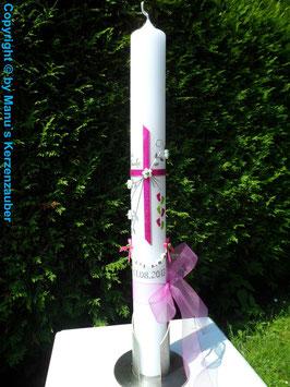 Kommunion  KK135 Pink-Apfelgrün Flitter & Füße Gottes