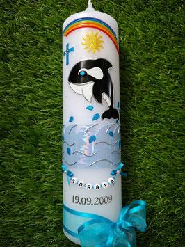 Taufkerze Orca TK115