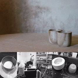 TURBO-DAG eendelige plaasteren gietmal maken van je eigen ontwerp (theetas of kommetje)