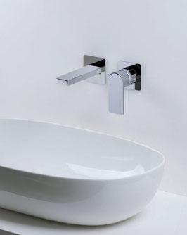 Mix lavabo a muro Pois