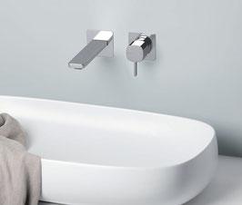 Mix lavabo a muro Haptic
