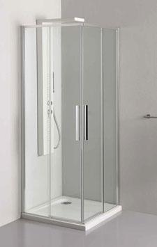 Box doccia GL6 |  2 lati Cm.100x80