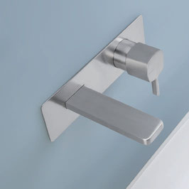 Mix lavabo muro con placca Haptic