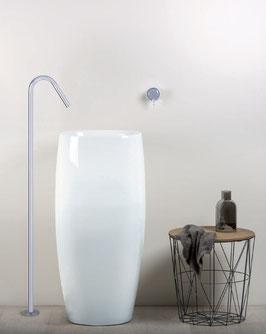 Mix lavabo a pavimento remoto Diametro35