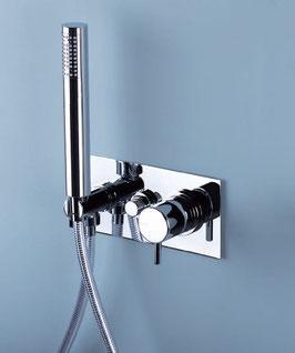 Mix doccia-vasca filomuro Reverso