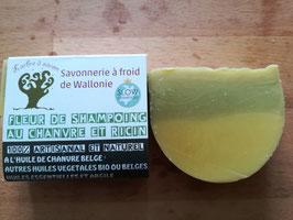 Shampoing au chanvre et ricin (idéal en cas de pellicules et perte de cheveux) 90 gr.