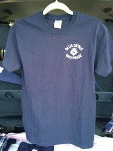 Marching Band Navy Circle T- Shirt