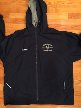 Portsmouth Hooded Lined Jacket WITHOUT Marching Band Logo on back