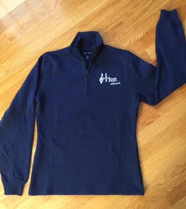 New 1/4 Zip Sweatshirt