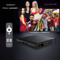 Botech WZONE 4K ANDROID 10 TV Box HDR60Hz / HDMI2.1 Streaming Empfänger