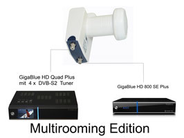 GigaBlue Multiroom Set