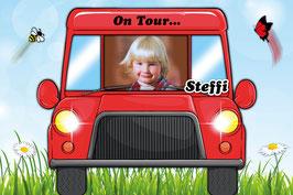 Kinder - Autoschild - On Tour