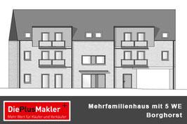 Borghorst - Mehrfamilienhaus mit 5 Eigentumswohnungen