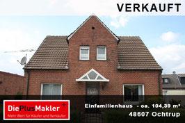PLZ 48607 - Obj-Nr. 883 - Einfamilienhaus  in Ochtrup
