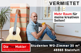 PLZ 48565 - OBJ-NR. 642 - Wohnung mieten in Steinfurt - 687