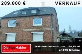 PLZ 48429 - Obj-Nr. 809 - Mehrfamilienhaus kaufen in Rheine