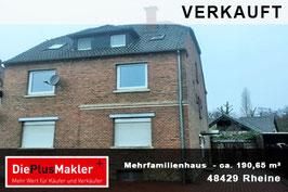 PLZ 48429- Obj-Nr. 809 - Mehrfamilienhaus kaufen in Rheine