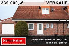 PLZ 48565 - Obj-Nr. 917 - Doppelhaushälfte in Steinfurt-Borghorst