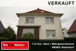 VERKAUFT - 716 - 48565 - Haus kaufen in Steinfurt