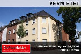 PLZ 59067 - Obj-Nr. 868 - Wohnung mieten in Hamm