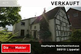 PLZ 59510 - Obj-Nr. 721 - Gepflegtes Mehrfamilienhaus in Lippetal