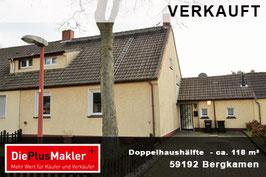 PLZ 59192 - Obj-Nr. 813 - Doppelhaushälfte in Bergkamen