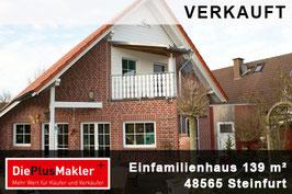 PLZ 48565 - OBJ. NR. 666 - Einfamilienhaus in  Steinfurt